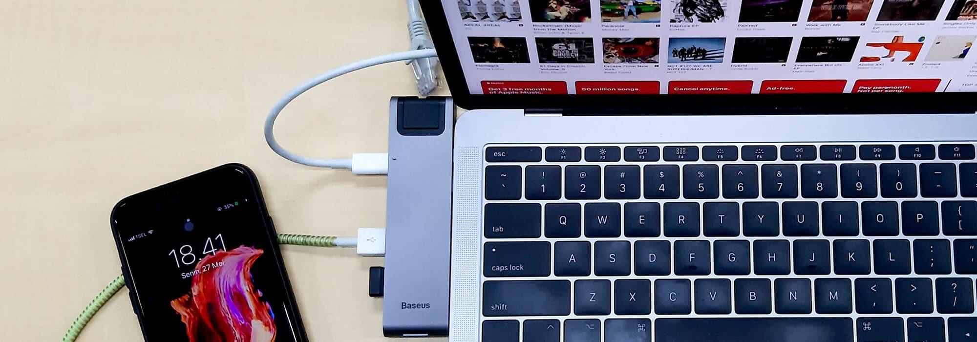 Heb jij ook altijd te weinig aansluitingsmogelijkheden in je laptop?